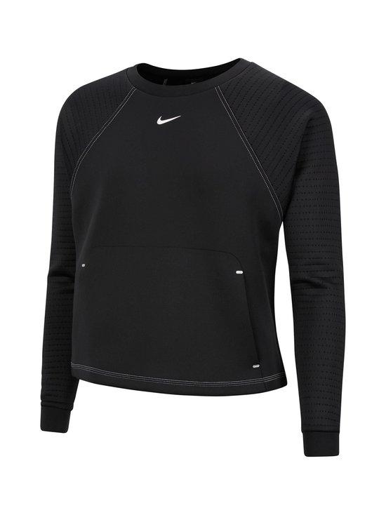 Nike - Lux Dry Fleece -paita - 010 BLACK/METALLIC SILVER | Stockmann - photo 1
