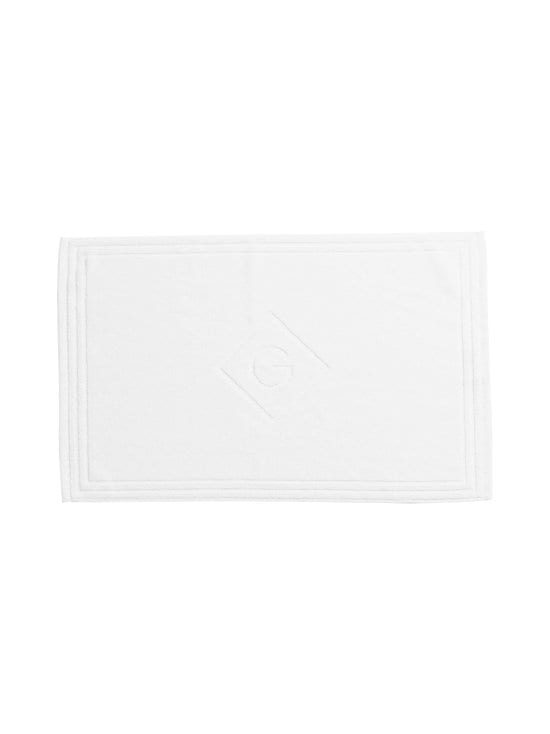 Gant Home - Organic Cotton G -kylpyhuonematto - 110 WHITE | Stockmann - photo 1
