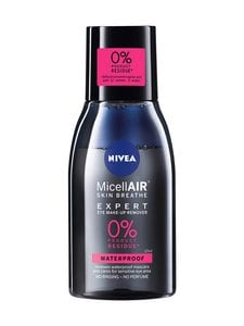 NIVEA - MicellAIR Expert Waterproof Eye Make-Up Remover -silmämeikinpoistoaine 125 ml | Stockmann