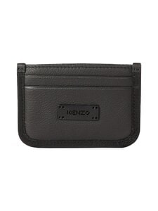 Kenzo - Trek Leather Card Holder -korttikotelo - BLACK | Stockmann
