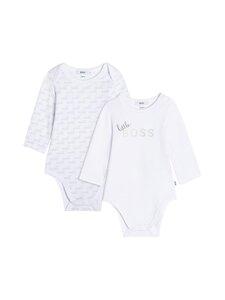 Hugo Boss Kidswear - Little Boss -bodyt 2 kpl - 10B WHITE | Stockmann
