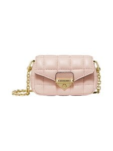 Michael Michael Kors - Soho XS Quilted Leather Bag Charm -nahkalaukku - 187 SOFT PINK | Stockmann