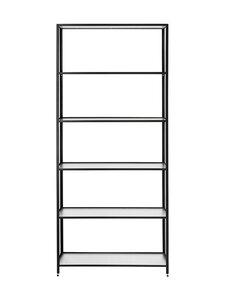 Ferm Living - Haze Bookcase -hylly 185 x 80 x 30 cm - BLACK   Stockmann