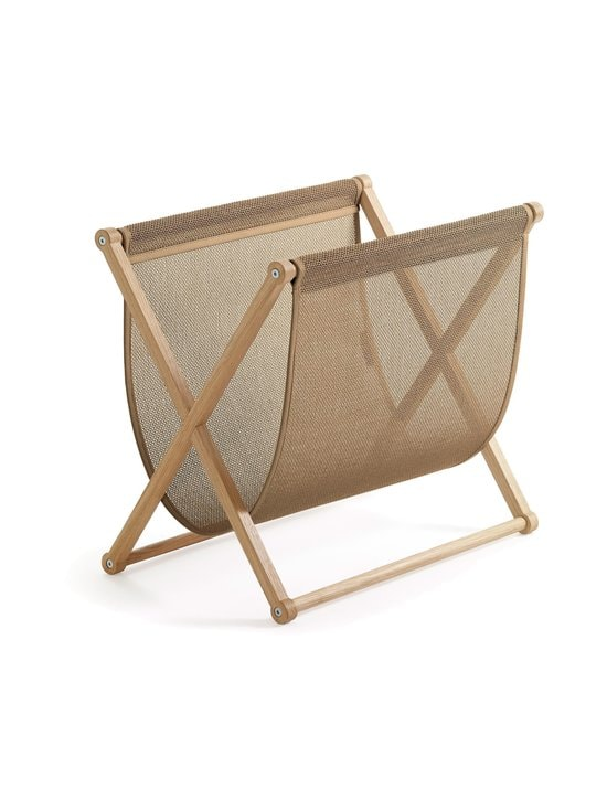 Woodnotes - Magazine Rack -lehtiteline 50 x 32 x 45,5 cm - OAK FRAME / NATURAL FABRIC | Stockmann - photo 1