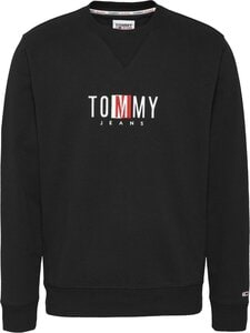 Tommy Jeans - Timeless Tommy Crew -collegepaita - BDS BLACK | Stockmann