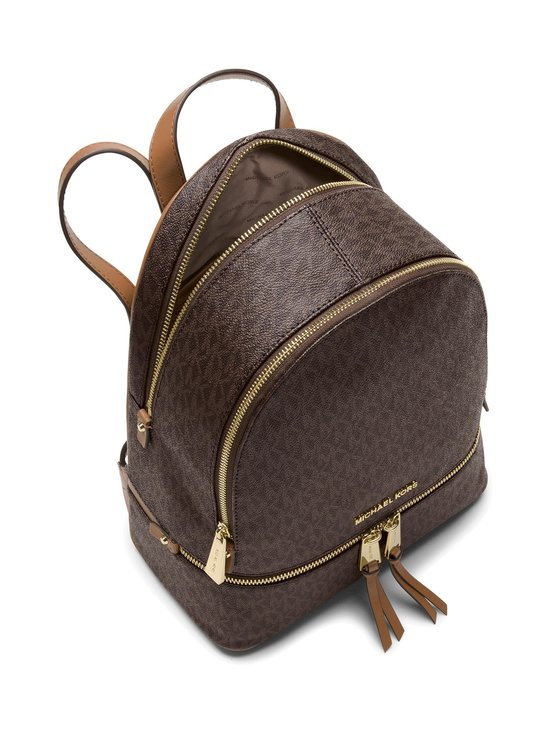 Michael Michael Kors - Rhea Medium Backpack -reppu - BROWN | Stockmann - photo 2