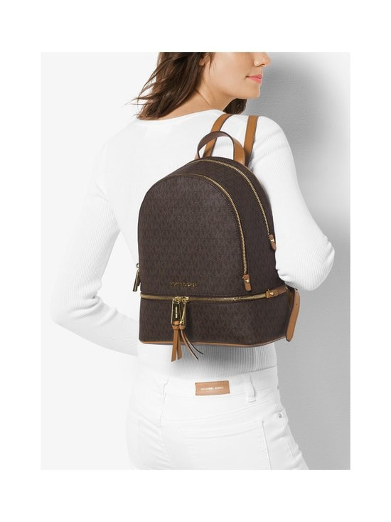 Michael Michael Kors - Rhea Medium Backpack -reppu - BROWN | Stockmann - photo 3