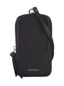 Coccinelle - Tresor Phone and Credit Card Hold -laukku - 001 NOIR   Stockmann