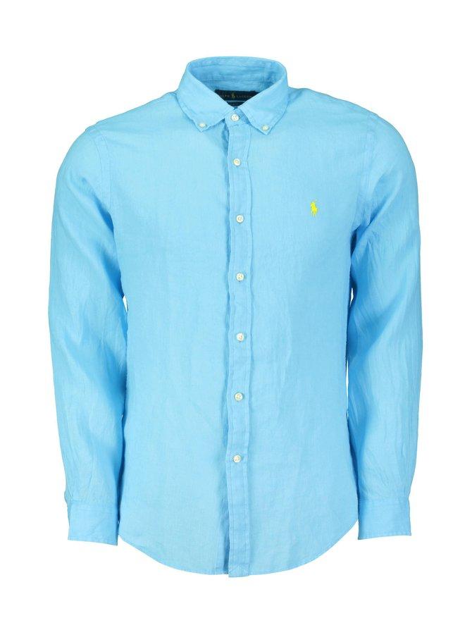 Sport Shirt Slim Fit -pellavakauluspaita