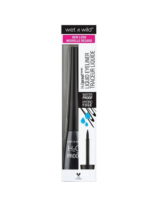 Wet n Wild - H2O Proof Felt Tip Liquid Eyeliner -nestemäinen silmänrajauskynä - BLACK | Stockmann - photo 3