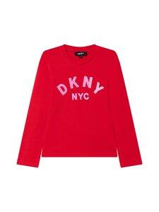Dkny - Glitter logo -pitkähihainen paita - 991 BRIGHT RED | Stockmann