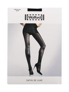 Wolford - Satin De luxe -sukkahousut - BLACK | Stockmann