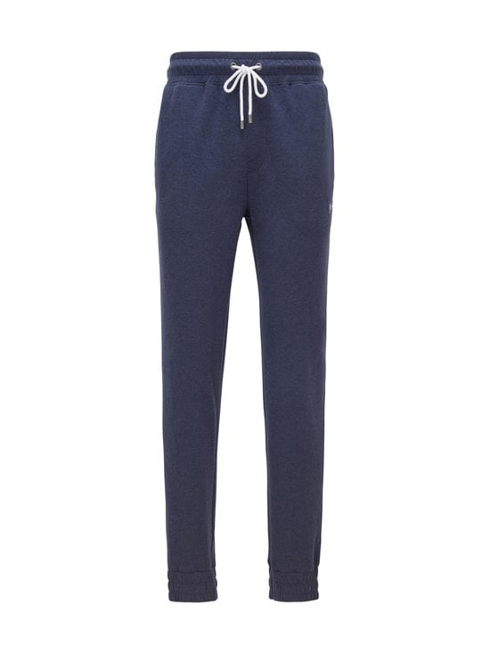 BOSS - Cuffed Loungewear Trousers -housut - 405 DARK BLUE | Stockmann - photo 1