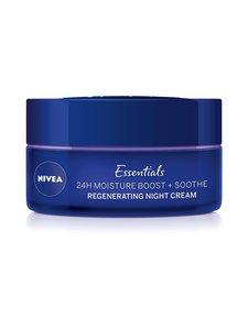 NIVEA - Essentials 24 h Moisture Boost + Soothe Night Cream -yövoide 50 ml - null | Stockmann