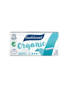 Vuokkoset - Normal Organic -tamponi 16 kpl - null | Stockmann