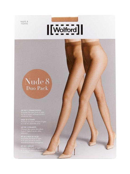 Wolford - Nude 8 den -sukkahousut 2-pack - GOBI | Stockmann - photo 1