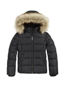Tommy Hilfiger - Essential Basic Down Jacket -untuvatakki - BDS BLACK | Stockmann