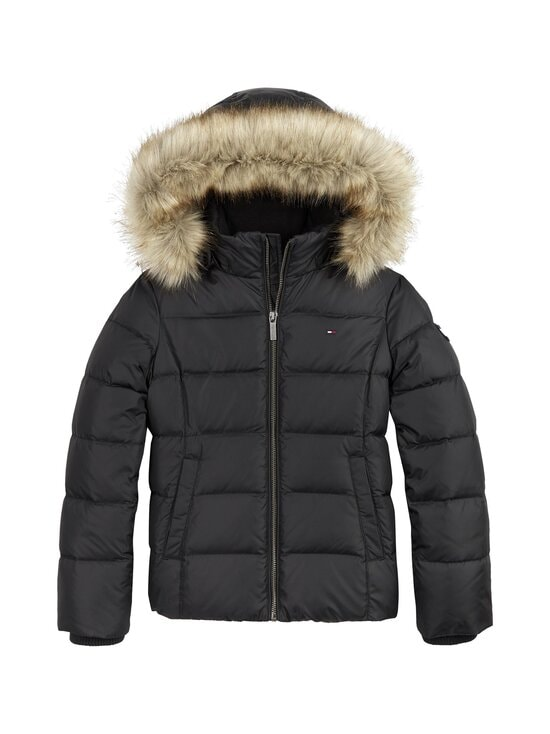 Tommy Hilfiger - Essential Basic Down Jacket -untuvatakki - BDS BLACK | Stockmann - photo 1