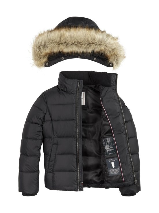 Tommy Hilfiger - Essential Basic Down Jacket -untuvatakki - BDS BLACK | Stockmann - photo 3