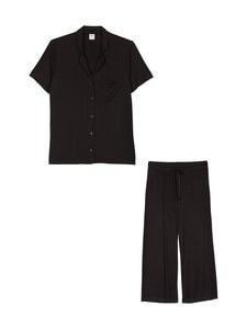 NOOM loungewear - Amanda-pyjama - BLACK SOLID | Stockmann