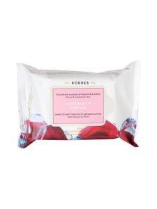 Korres - Pomegranate -puhdistusliinat rasvoittuvalle ja sekaiholle 25 kpl | Stockmann
