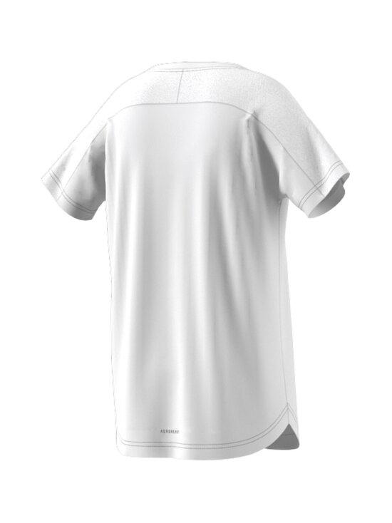 adidas x Marimekko - Primegreen Aeroready pitkä T-paita - WHITE/VIVRED | Stockmann - photo 3