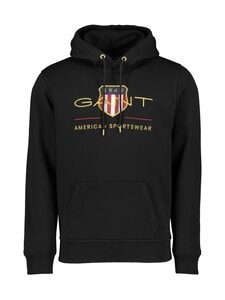 GANT - Archive Shield Hoodie -huppari - 5 BLACK | Stockmann