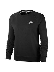 Nike - Sportswear Essential Crew -collegepaita - BLACK/WHITE | Stockmann