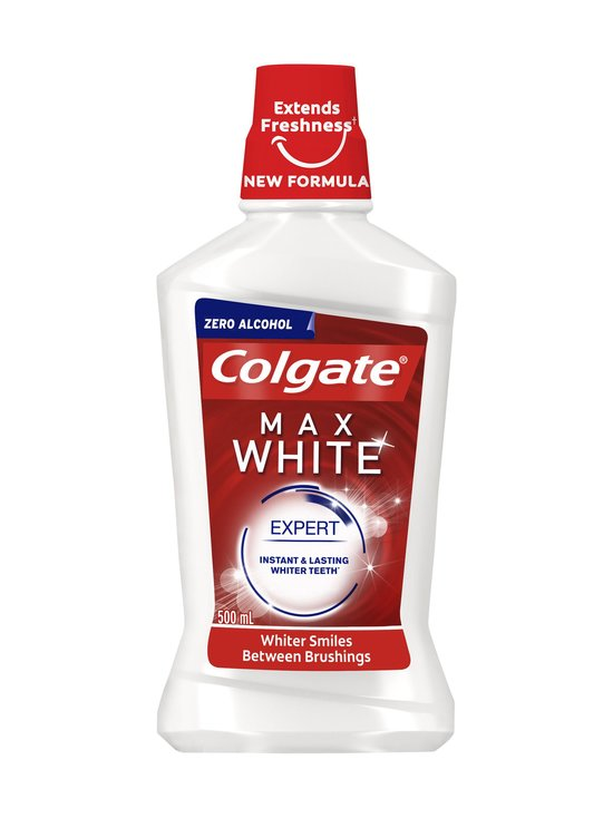 Colgate - Max White Expert -suuvesi 500 ml - NOCOL | Stockmann - photo 1