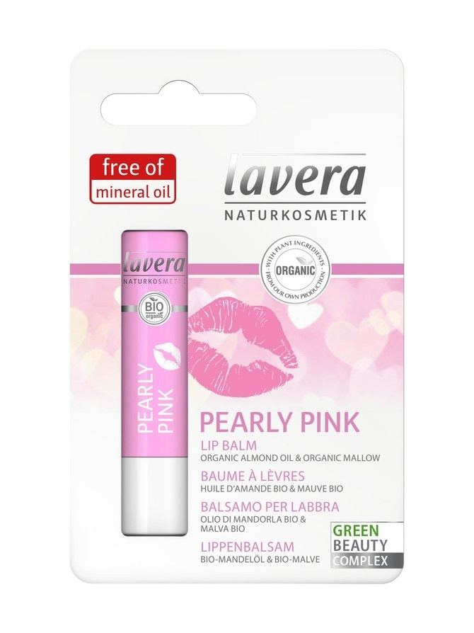 Lip Balm Pearly Pink -huulivoide