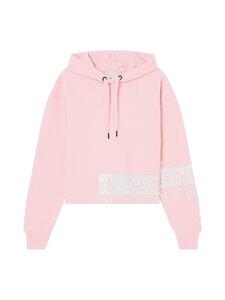 Calvin Klein Jeans - Mirrored Logo Hoodie -huppari - TN9 PEARLY PINK / BRIGHT WHITE | Stockmann