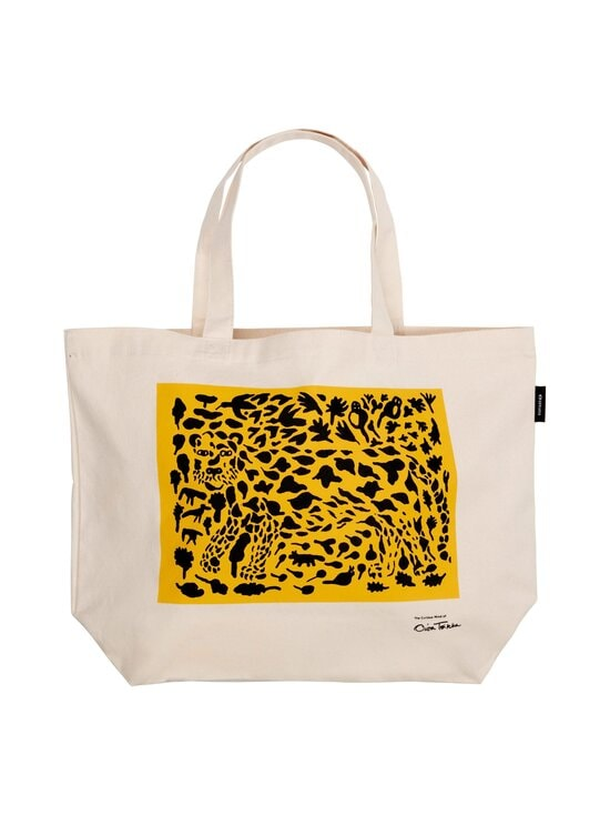Iittala - Oiva Toikka Collection Cheetah -kangaskassi - WHITE, YELLOW, BLACK | Stockmann - photo 1