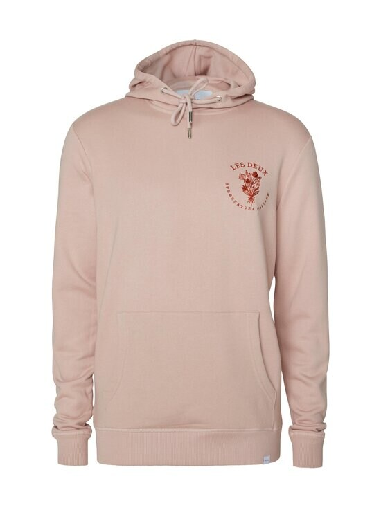 Les Deux - Sprezzatura Hoodie -huppari - 620610-DUSTY ROSE/RUST RED | Stockmann - photo 1