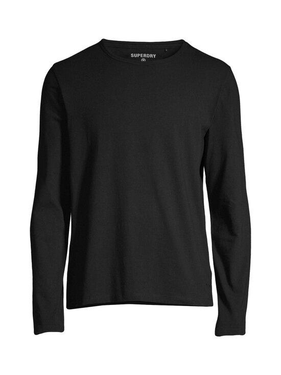 Superdry - Laundry Long Sleeve Top -paita - 02A BLACK | Stockmann - photo 1