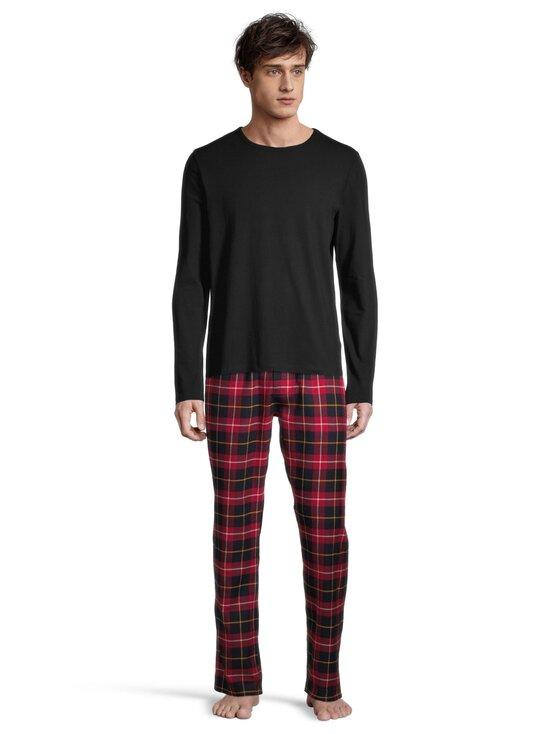 Superdry - Laundry Long Sleeve Top -paita - 02A BLACK | Stockmann - photo 3