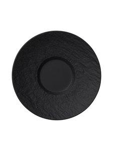 Villeroy & Boch - Manufacture Rock -espressokupin aluslautanen 12 cm - BLACK | Stockmann