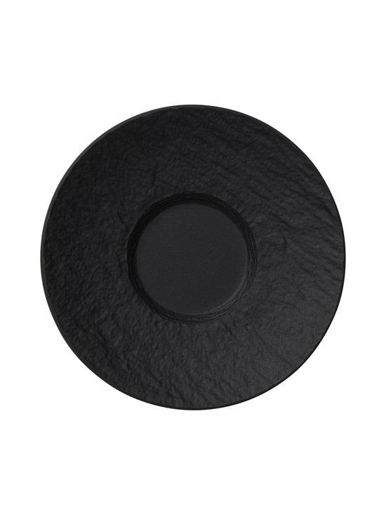 Villeroy & Boch - Manufacture Rock -espressokupin aluslautanen 12 cm - BLACK | Stockmann - photo 1
