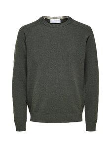 Selected - Slh New Coban Lambs Wool -villaneule - FOREST NIGHT DETAIL:KELP   Stockmann