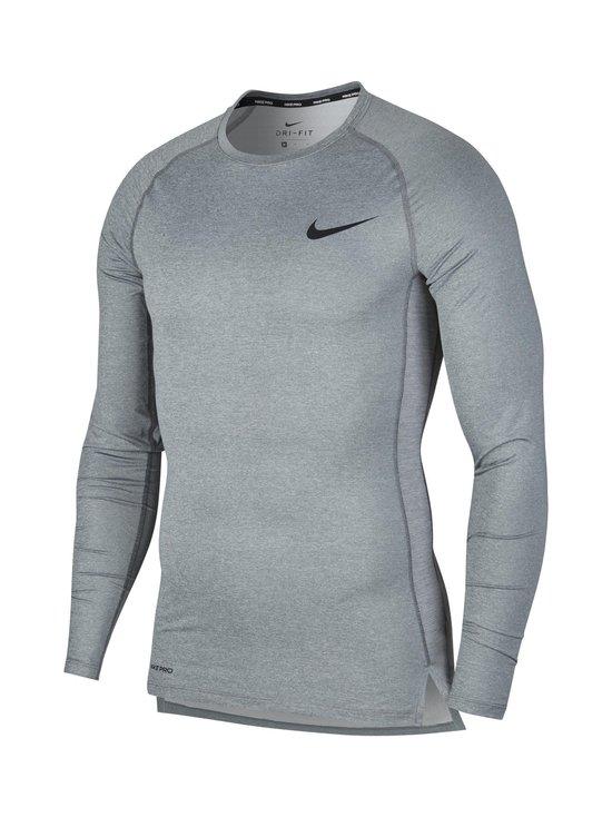 Nike - Pro Tight-Fit Long-Sleeve Top -treenipaita - SMOKE GREY/LT SMOKE GREY/BLACK   Stockmann - photo 1