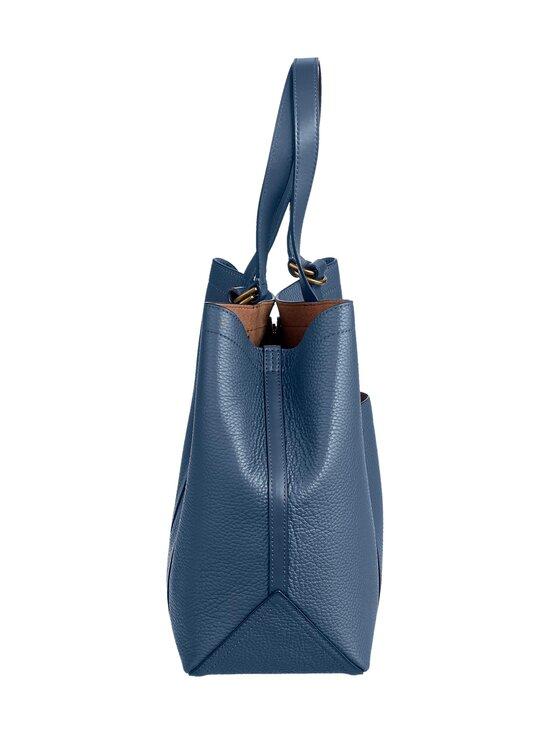 Polo Ralph Lauren - Classic Tote Medium -nahkalaukku - NAVY 2XEE   Stockmann - photo 3
