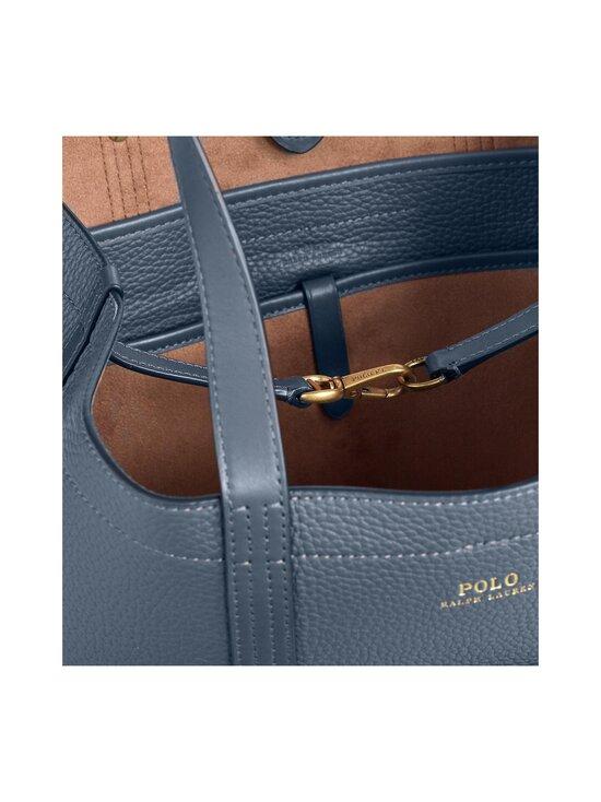 Polo Ralph Lauren - Classic Tote Medium -nahkalaukku - NAVY 2XEE   Stockmann - photo 4