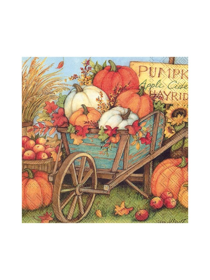 Pumpkin Crop -servetti 25 x 25 cm