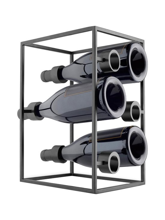 Eva Solo - Nordic Kitchen Wine Cube -viinipulloteline - BLACK | Stockmann - photo 1