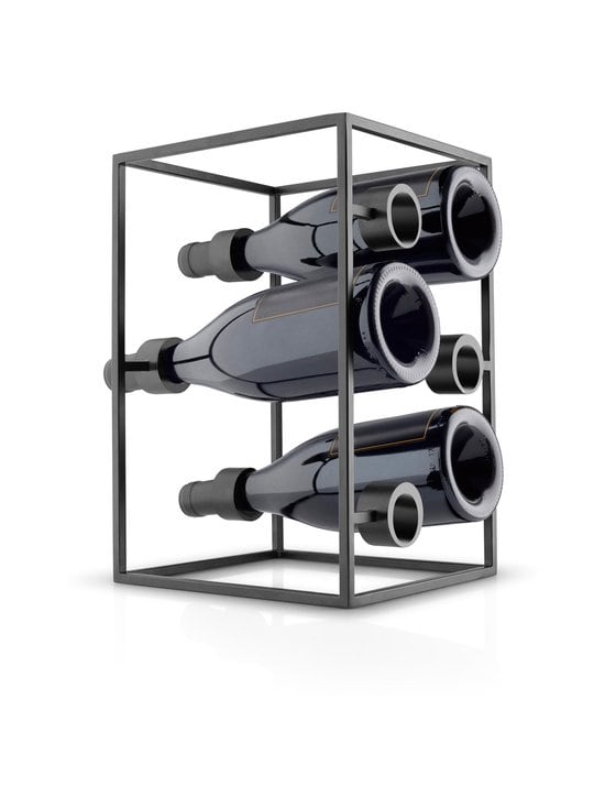 Eva Solo - Nordic Kitchen Wine Cube -viinipulloteline - BLACK | Stockmann - photo 2