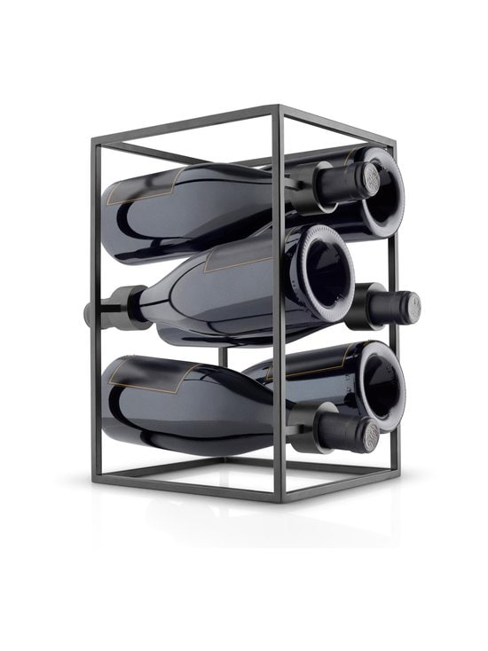 Eva Solo - Nordic Kitchen Wine Cube -viinipulloteline - BLACK | Stockmann - photo 3
