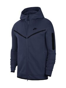 Nike - Tech Fleece -huppari - MIDNIGHT NAVY/BLACK 410   Stockmann