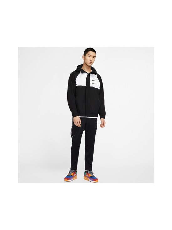 Nike - Swoosh Hooded -takki - 011 BLACK/WHITE/PARTICLE GREY/BLACK | Stockmann - photo 8