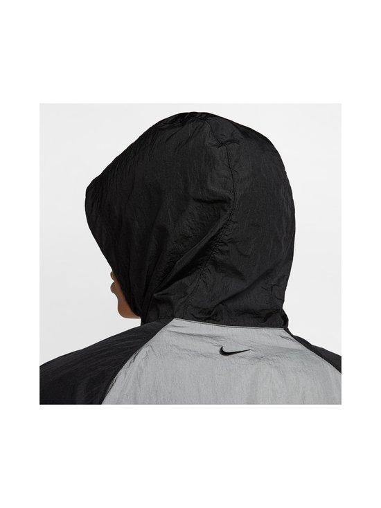 Nike - Swoosh Hooded -takki - 011 BLACK/WHITE/PARTICLE GREY/BLACK | Stockmann - photo 9