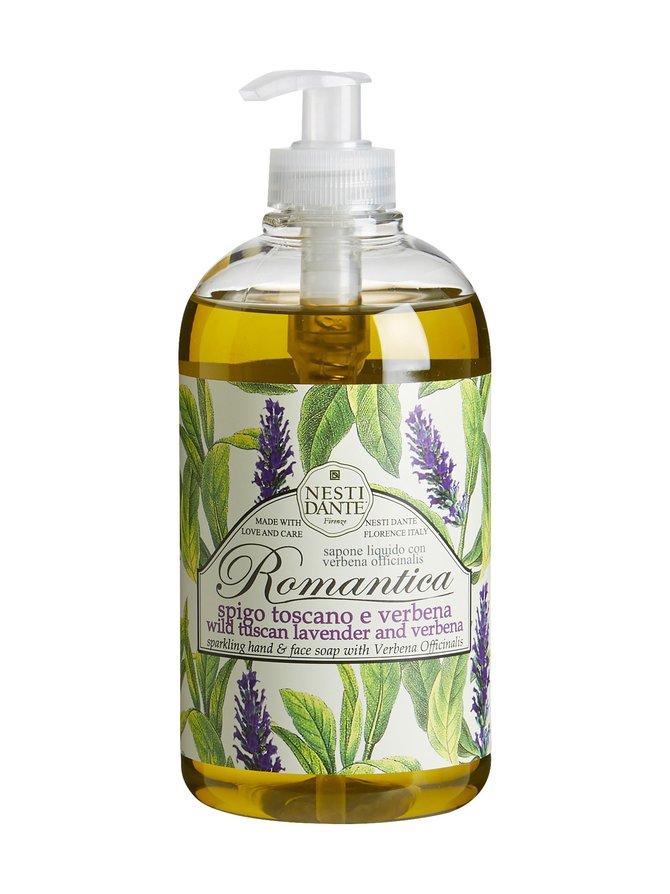 Romantica Tuscan Lavender And Verbena -nestesaippua 500 ml