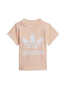 adidas Originals - Trefoil Tee -paita - HAZCOR/WHITE   Stockmann